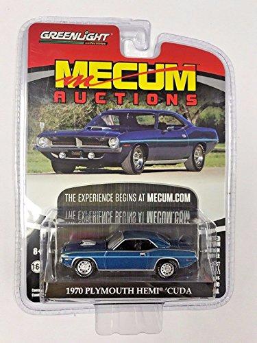 Greenlight Mecum Auctions Series 1 Limited Edition - 1970 Plymouth HEMI Cuda -