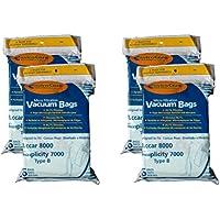 24 Riccar Simplicity Type B Microfiltration Vacuum Cleaner Bags
