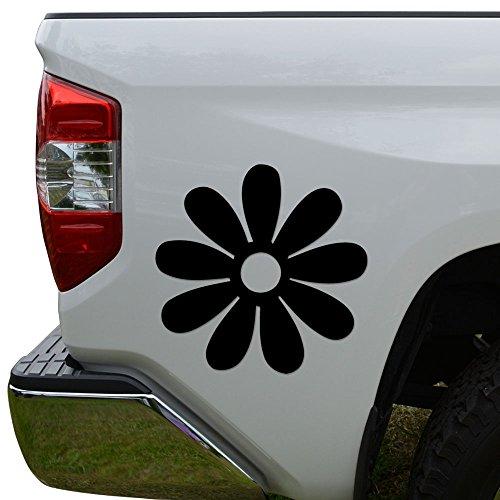 - Rosie Decals Groovy Daisy Flower Petals Die Cut Vinyl Decal Sticker For Car Truck Motorcycle Window Bumper Wall Decor Size- [15 inch/38 cm] Wide Color- Matte Black