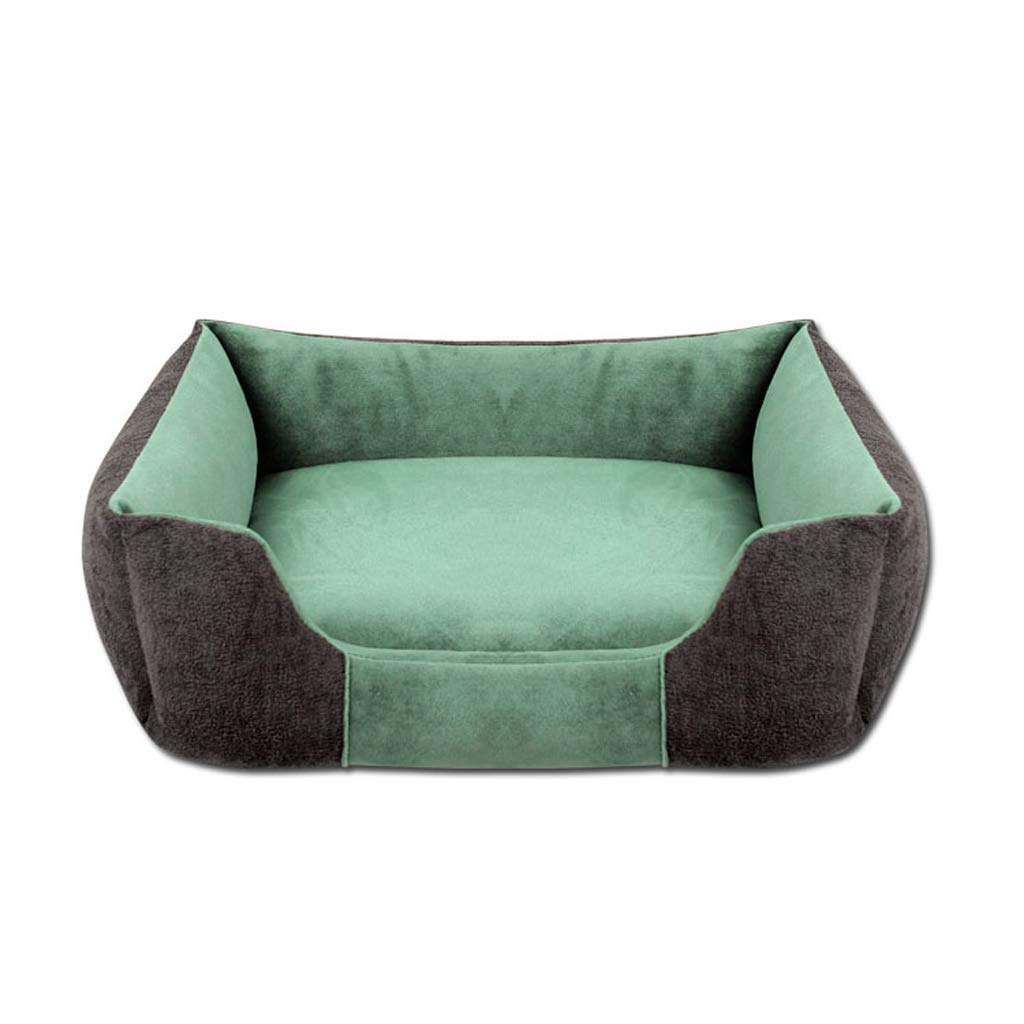 D M D M Chengxin Beds & Furniture Four Seasons Can Wash Pet Bed, Rectangular Dog and Cat Bed Beds & Furniture (color   D, Size   M)