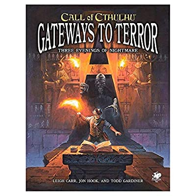 Call of Cthulhu: Gateways to Terror (Book): Toys & Games