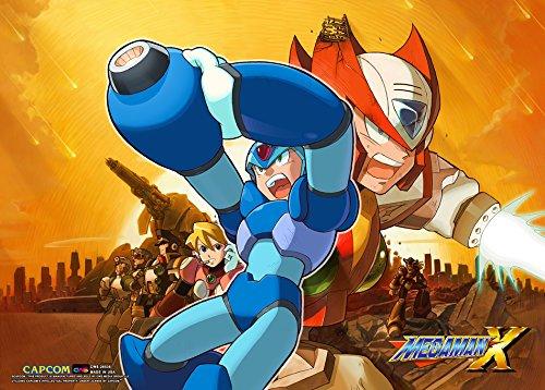 CWS Media Group Mega Man X Wall Scroll Poster