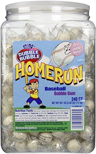 Home Run Baseball Jar 240 Pieces