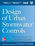 img - for Design of Urban Stormwater Controls, MOP 23 (Water Resources and Environmental Engineering Series) book / textbook / text book