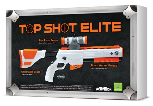 Xbox Light Gun (Cabela's Top Shot Elite Firearm Controller - Xbox 360)