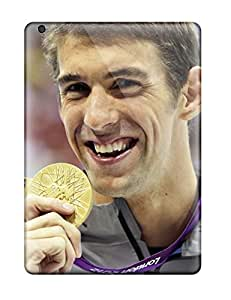 4974511K85068334 High-quality Durability Case For Ipad Air(michael Phelps Poster)