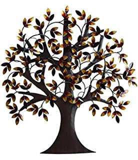 "Amazon Tree of Life Metal Wall Art Sculptures Home Decor Life Decoration 39""w,24""h Home & Kitchen"