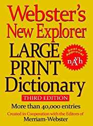Image of the product Websters New Explorer that is listed on the catalogue brand of . This item has been rated with a 5.0 scores over 5