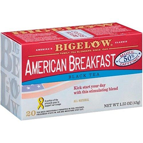 Bigelow American Breakfast, Black Tea, 20 pk, .08 oz