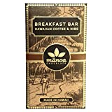 Manoa Breakfast Bar Hawaiian Coffee & Nibs