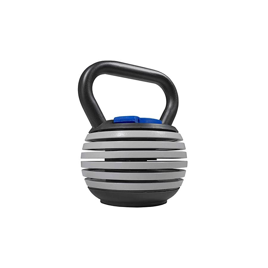 Titan Fitness 5 20 lb Adjustable Kettlebell Weight Lifting Swing Workout