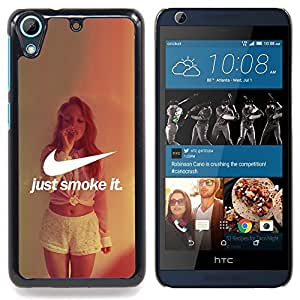 - JUST SMOKE IT - - Monedero pared Design Premium cuero del tir???¡¯???€????€????????????¡¯?&c