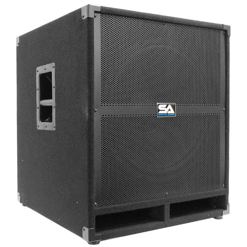 Seismic Audio Tremor_18-PW - Powered PA 18-Inch Subwoofer Speaker Cabinet by Seismic Audio
