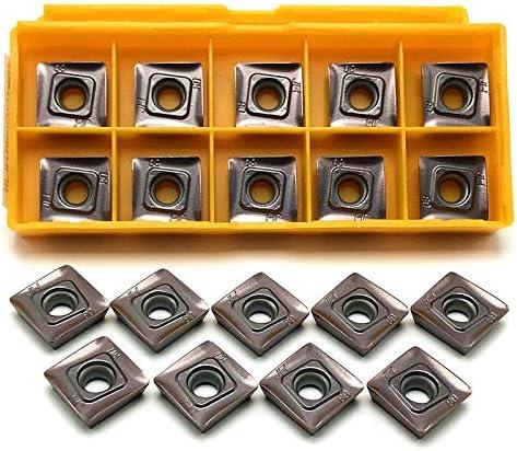 SOMT12T308 JH VP15TF Milling Cutting Tool CNC Metal Lathe Tools SOMT 12T308 Carbide Turning Tool Lathe (Shank Diameter : 20PCS (2 boxes))