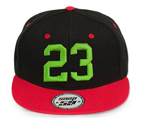 3d Letter a Abc A Z Cap 23 rojo 4sold Baseball con blanco verde Cap letras Snapback en qZpTTw