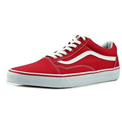758e71e577 Vans  quot Canvas Old Skool Sneakers (Formula One) Unisex Skate  Checkerboard Shoes