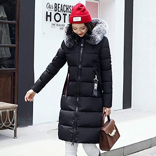 Da Noir Sunnyday Donna Xl Piumino Chaud Taille Mode Hiver Zfwq5af