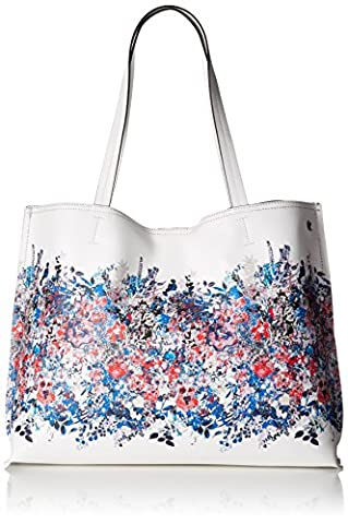 Elliott Lucca Jules Totes, Denim Bouquet - Elliott Lucca Leather Shoulder Bag