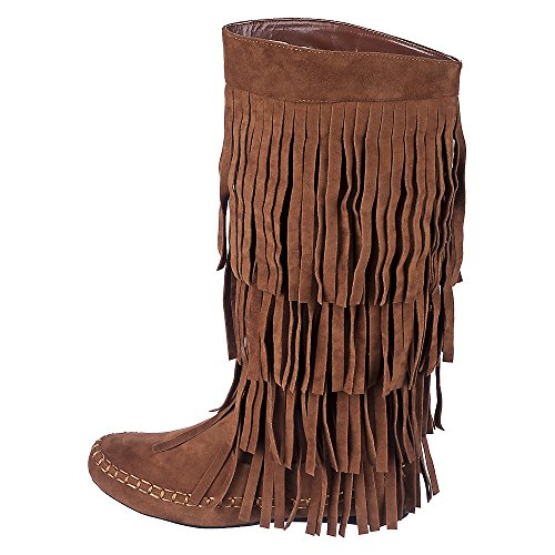Shiekh Mudd-55 Boot - Rust Size 7.5