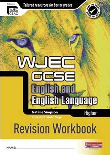 Book WJEC GCSE English and English Language Higher Revision Workbook by Natalie Simpson (2011-02-24)