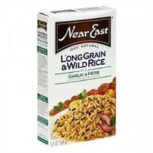 Amazon.com : Near East Long Grain & Wild Rice Garlic (12x5