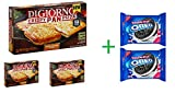 #10: DiGiorno 4 Cheese Crispy Pan Pizza, 26.6 oz (Pack Of 3) + 2 Nabisco Oreo Double Stuf Chocolate Sandwich Cookies 15.35 oz