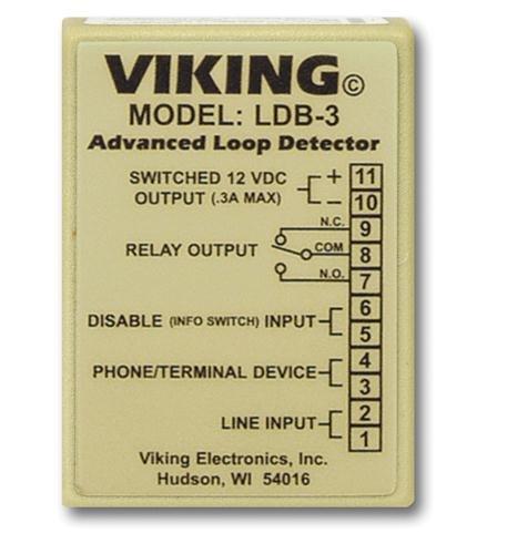 Loop and Ring Detector Board Loop and Ring Detector Board - Ldb 3 Loop