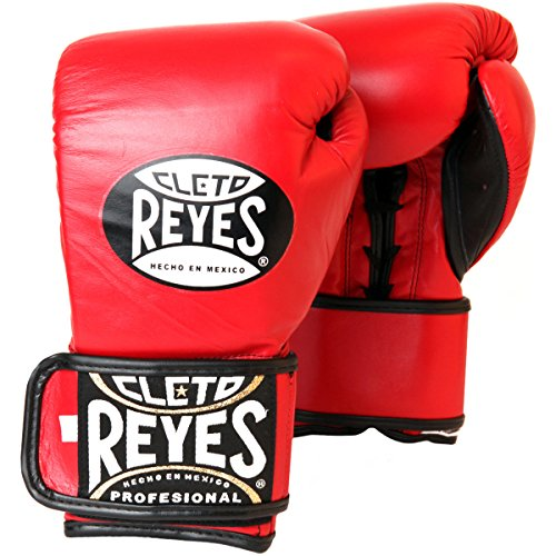 5. Cleto Reyes Hybrid Lace Up Hook & Loop Training Gloves