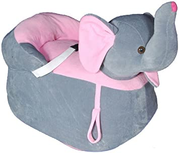 TANZEN Soft Toy Elepahnt Shaped Seat/ Chair, 42cm