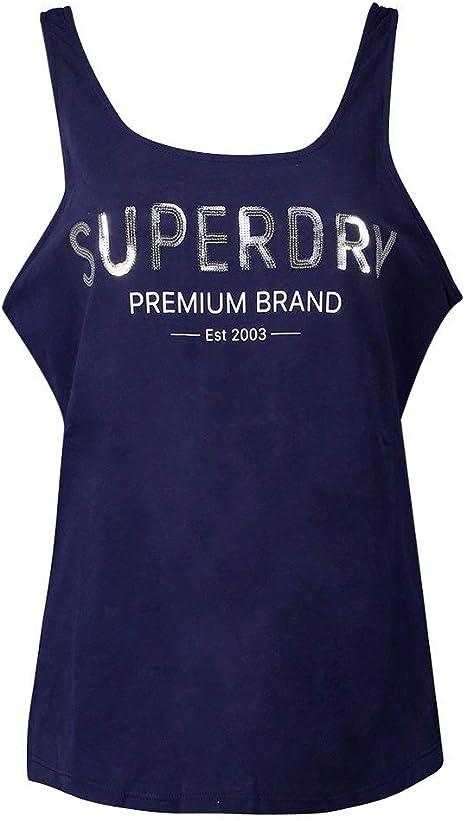 Superdry Premium - Camisa clásica con Lentejuelas para Mujer: Amazon.es: Deportes y aire libre