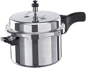 Vinod VA-5L Aluminum Pressure Cooker, 5-Liter