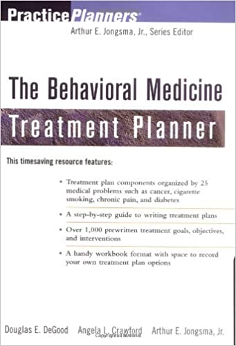 The Behavioral Medicine Treatment Planner: 9780471319238: Medicine ...