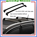 for 12-15 Honda CRV Roof Rack Side Rail + Cross