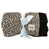 My Blankee Fuzzy Cheetah Super Throw Blanket, Black, 60''X 70''