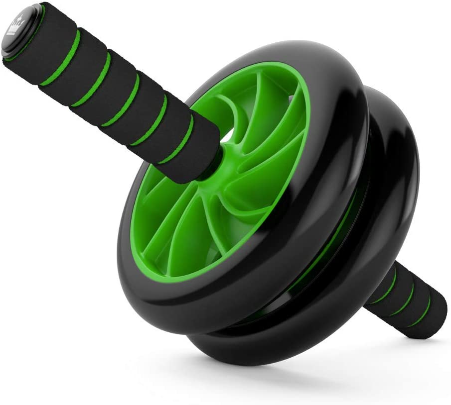 King Athletic Ab-Roller Wheel :: Abs Carver for Abdominal & Stomach Exercise Training :: Because You Need The Best Fitness Core Shredder :: Your New Ab Trainer Includes Two Instructional eBooks