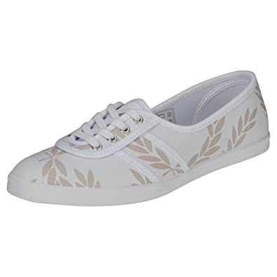 0b3e7a53eb Fred Perry Aubrey Printed Womens Trainers  Amazon.co.uk  Shoes   Bags