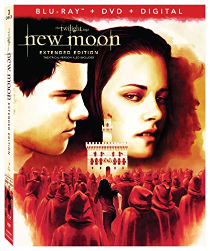 THE TWILIGHT SAGA:  NEW MOON 3-Disc Combo Pack+Extended Edition [Blu-ray] ()