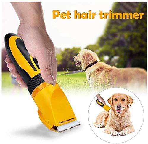 AMYD A001 Pet Clipper Animal Professional Pet Dog Hair Trimmer Grooming Potente Cat Tailor Shaver Mower Cortadora de…