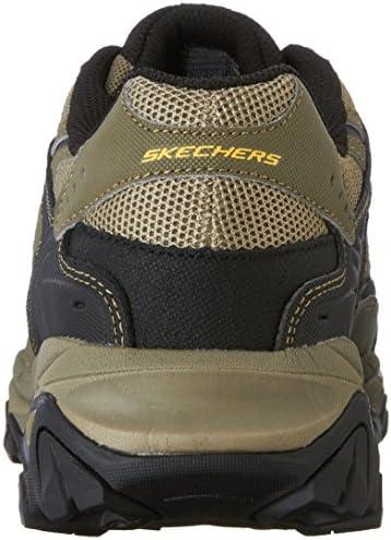 Skechers Men's Afterburn Memory-Foam Lace-up Sneaker 6
