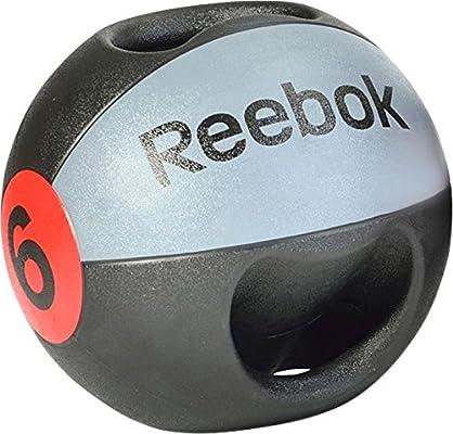 Reebok Double Grip 6Kg Balón Medicinal de Doble Agarre, Unisex ...