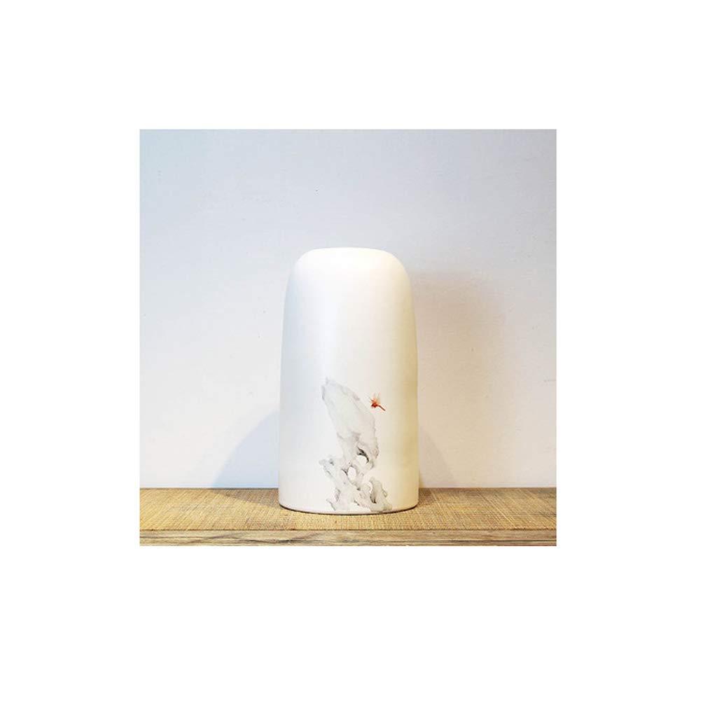 白い陶磁器の花瓶の装飾家のデスクトップの乾燥した花瓶の装飾/ハンドメイド JSFQ (サイズ さいず : 31cm×17cm) B07QLGYLKC  31cm×17cm