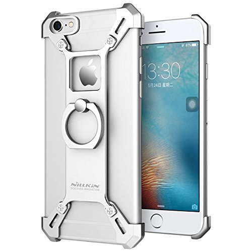 huge selection of c399e 263ab for iPhone 6 6s Case, Nillkin Barde Metal Case [Unique Design] Aircraft  Grade Aluminum + Zinc Alloy Assembled Metal Bumper Frame Case Back Cover  with ...