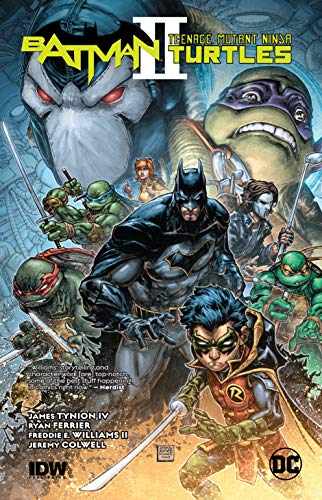 Batman/Teenage Mutant Ninja Turtles II (Batman And Robin Vol 2 Batman Vs Robin)
