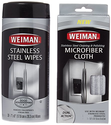 Weiman Stainless Cleaning Polish Microfiber