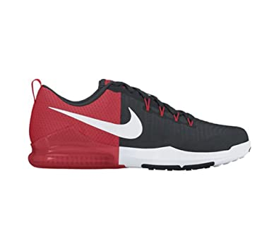 Nike Men s Zoom Train Action Training Shoe Black White Wolf Grey Action Red 6a5c162c7a63
