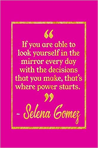 If You Are Able To Look Yourself In The Mirror Every Day With The