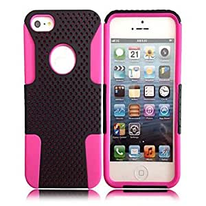 2-in-1 Small Dot Grid Case for iPhone 5