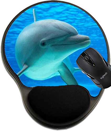 Price comparison product image MSD Mousepad wrist protected Mouse Pads/Mat with wrist support Dolphin photographed in an aquarium from an underwater window Image 19883791 Customized Tablemats Stain Resistance Collector Kit Kitchen