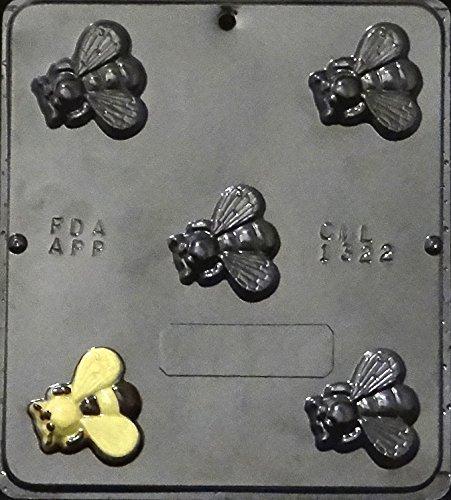Bee Chocolate Candy Mold 1322