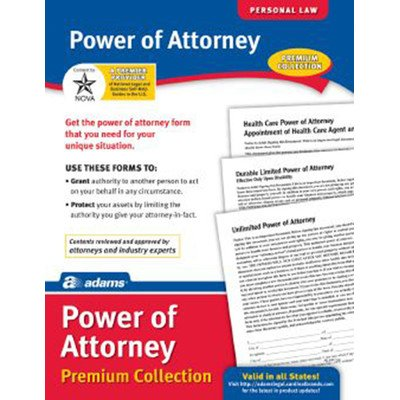 Power of Attorney Forms and Instructions Pack (Set of 6) [Set of 6]